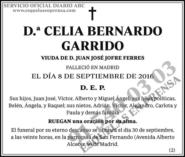 Celia Bernardo Garrido